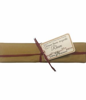 TORRONE gusto rhum Francucci mandorlato tenero ricoperto cioccolato