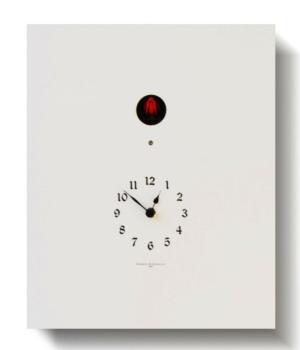ARCOIRIS 223W bianco Orologio a cucu da tavolo o parete