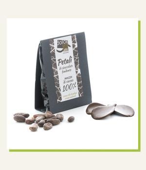Petali Cioccolato Fondente 100% Dolce Vita Massa di Cacao Ecuador