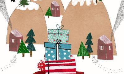 C'è una cartolina di Natale per te!