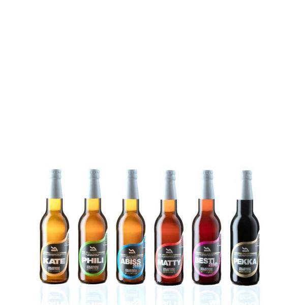 12 bottiglie 33cl BIRRE ARTIGIANALI birrificio Del Gomito
