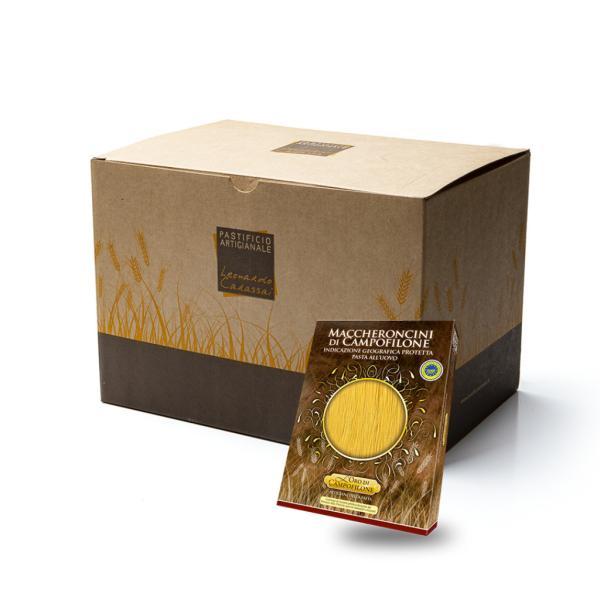 Box Carassai con 6 confezioni da 250 gr assortite pasta di Campofilone