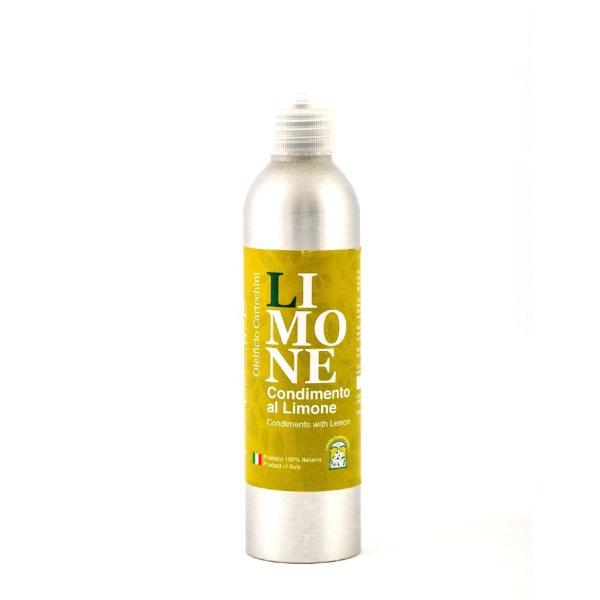 Olio EVO con limone oleificio Cartechini condimento aromatizzato