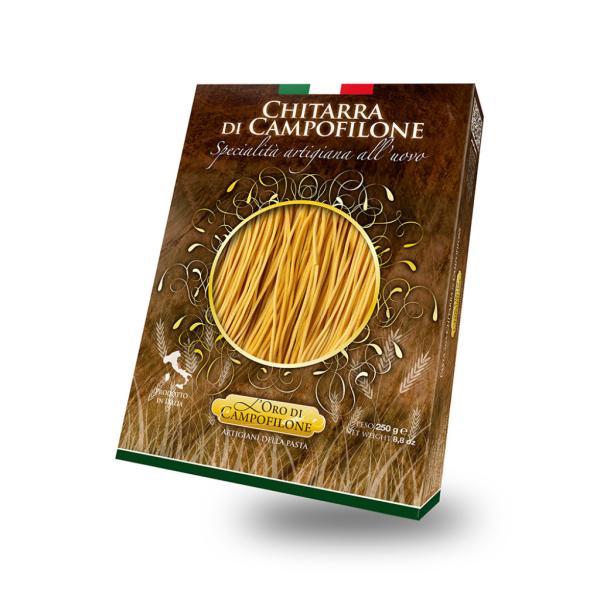 CHITARRA Campofilone Carassai pasta secca all'uovo metodo artigianale