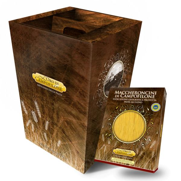 Box Carassai 10 confezioni da 250 gr assortite pasta di Campofilone