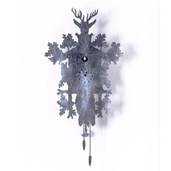 CUCU 373 LEAF con foglia argento rivestito Diamantini Domeniconi novita design