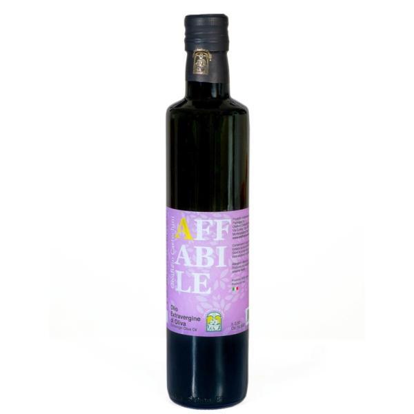 AFFABILE Olio blend EVO Cartechini solo olive italiane dalle Marche