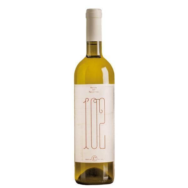 102 CENTODUE BIO  Castrum Morisci Marche IGT Passerina vino non filtrato