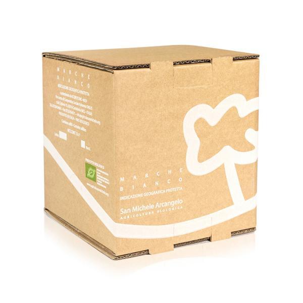 Bag in box San Michele Arcangelo bianco IGP vino formato convenienza Bio