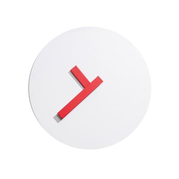 ANGOLO lancette rosse Straordinario orologio appoggio / parete base magnetica