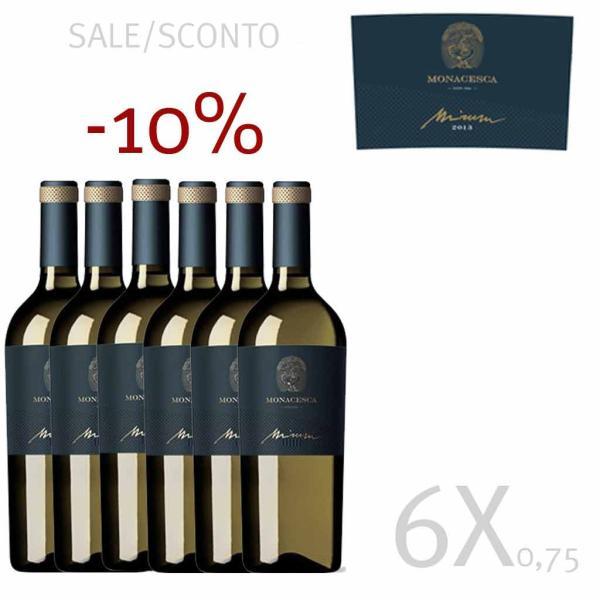 MIRUM 6 bottiglie vino bianco La Monacesca Verdicchio di Matelica DOCG