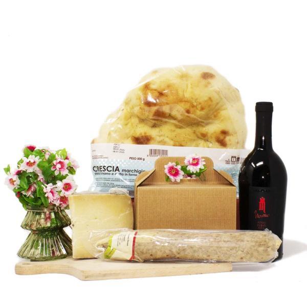Pitino box gourmet per 4 persone aperitivo passeggiata in campagna per picnic