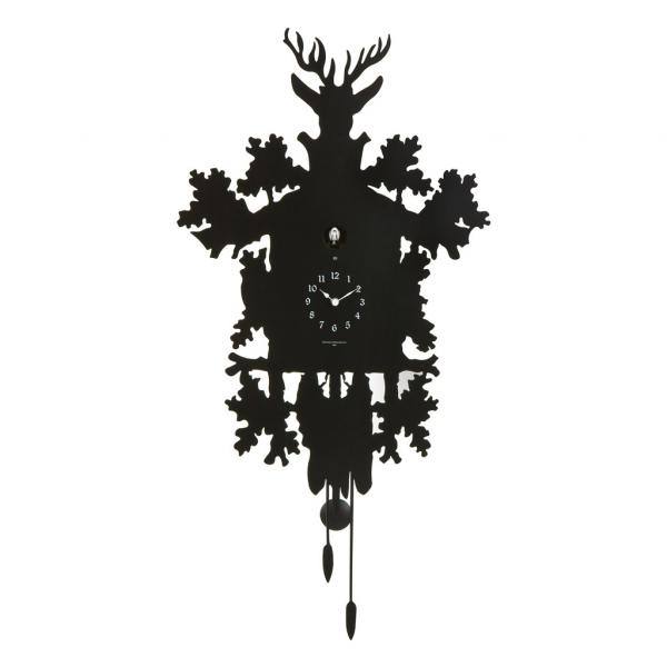 CUCU 373 nero Diamantini Domeniconi Grande orologio a cucu