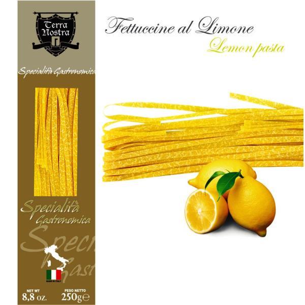 FETTUCCINE al limone Terra Nostra pasta all'uovo aromatizzata