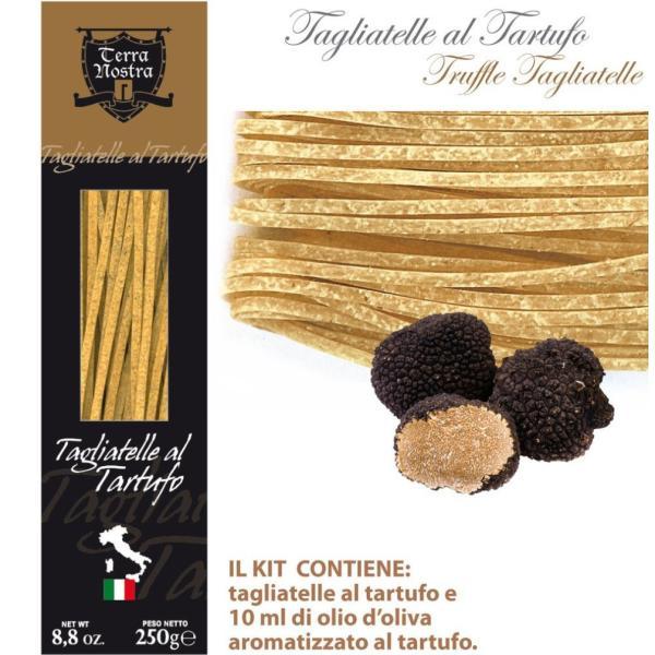 TAGLIATELLE al tartufo Terra Nostra Specialità gastronomica