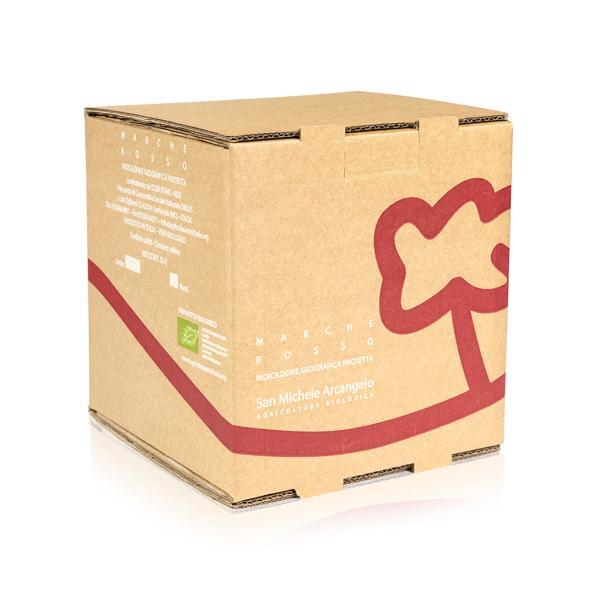 Bag in box San Michele Arcangelo rosso IGP vino sfuso da tavola BIO