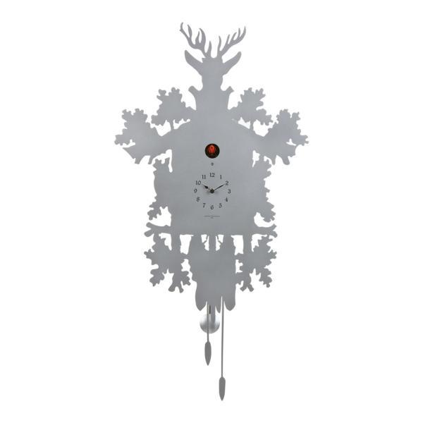 CUCU 373 alluminio Diamantini Domeniconi Orologio a parete