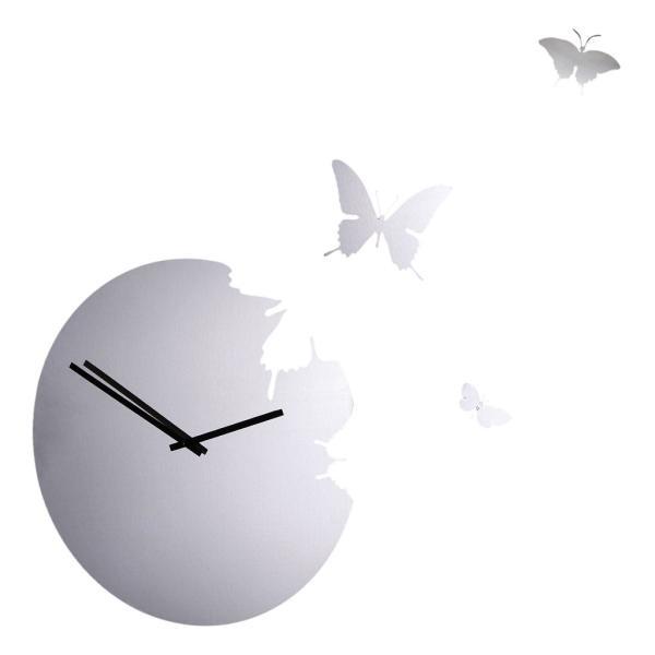 BUTTERFLY Inox Diamantini Domeniconi orologio a specchio + kit 3 farfalle