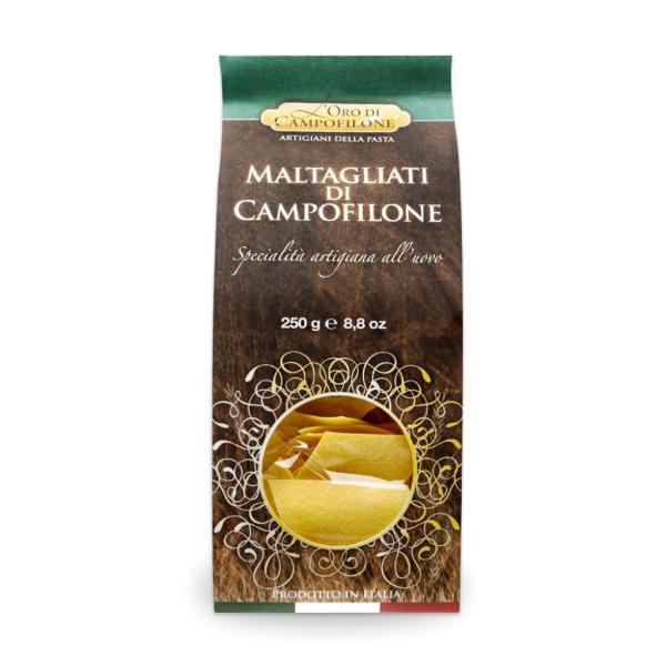 MALTAGLIATI Carassai Pasta all'uovo di Campofilone di alta qualità.