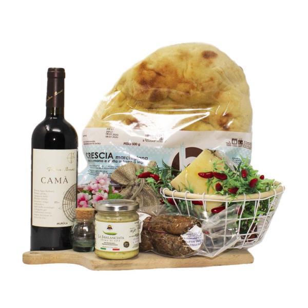 Corbezzolo kit per 4 persone aperitivo selezione food tipicità delle Marche