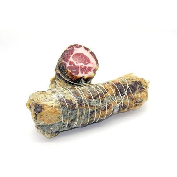 LONZA Puzielli capocollo di maiale italiano stagionato in grotta