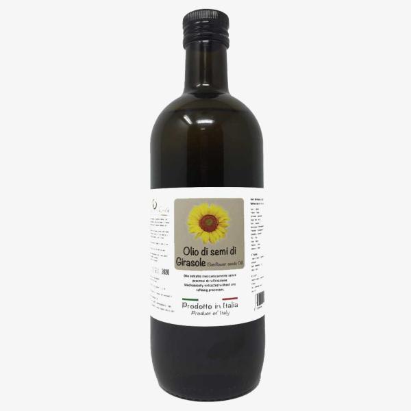 OLIO di semi di GIRASOLE Bio oleificio Cartechini