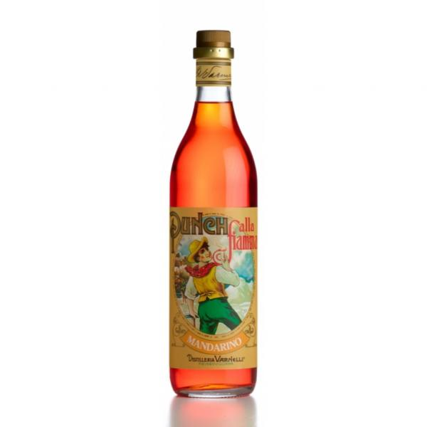 Punch MANDARINO Varnelli liquore da degustare scaldato liscio