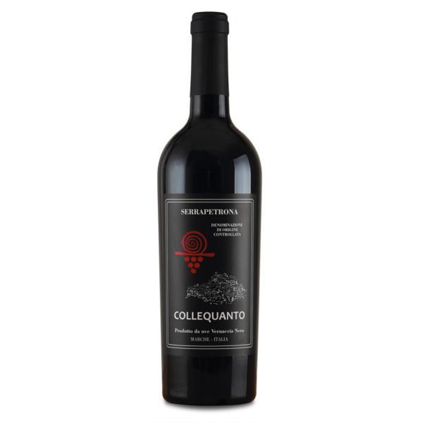 COLLEQUANTO Terre di Serrapetrona vino rosso Serrapetrona DOC
