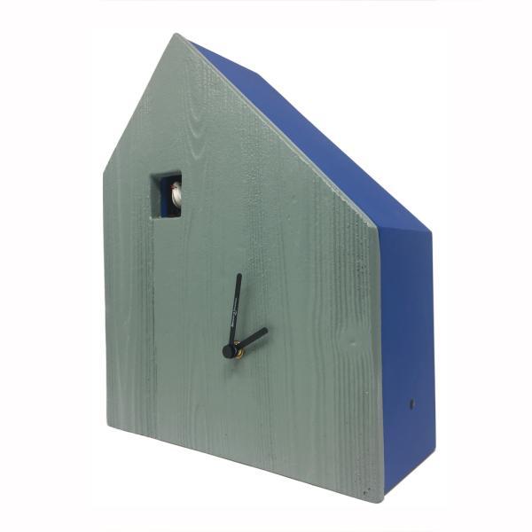CEMENTO blu maggio Orologio cucu' quadrante in cemento