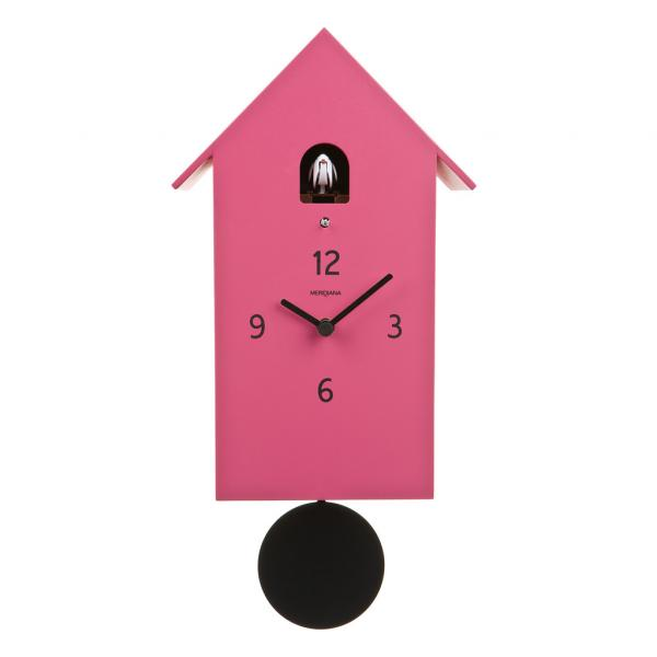 ZUBA magenta Design Italiano per un orologio a cucu unico