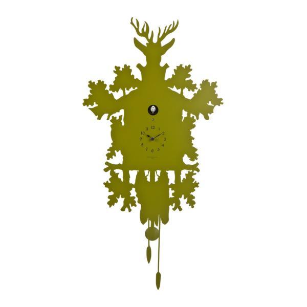 CUCU 373 verde duchamp Orologio con cucu e pendolo