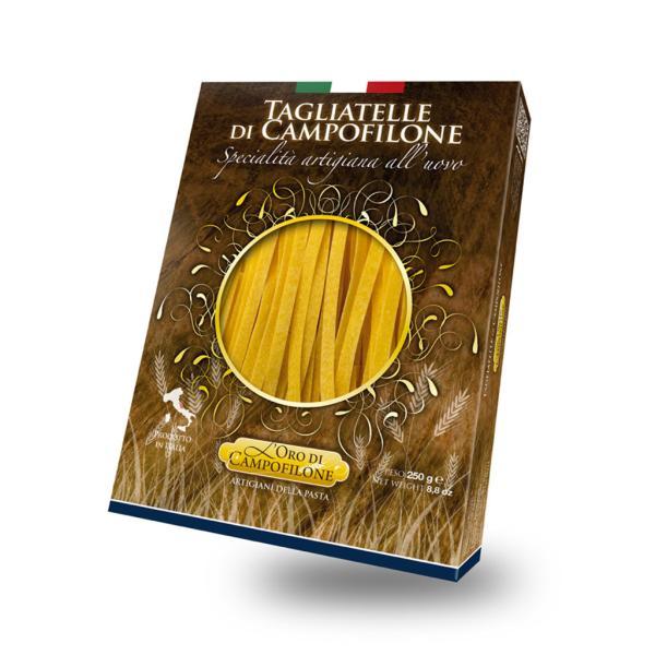 TAGLIATELLE Carassai Pasta all'uovo di Campofilone