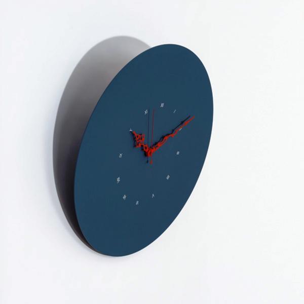 PISA blu universo Moderno ed esclusivo orologio che pende