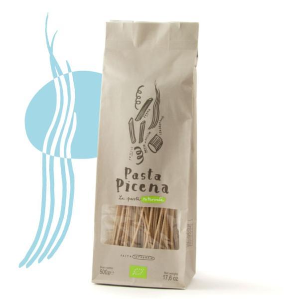 SPAGHETTI integrali Pasta Picena Semola di Grano Duro BIO certificato