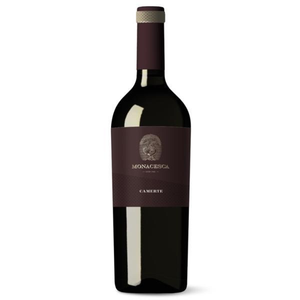 CAMERTE rosso La Monacesca Marche IGT da uve Sangiovese e Merlot
