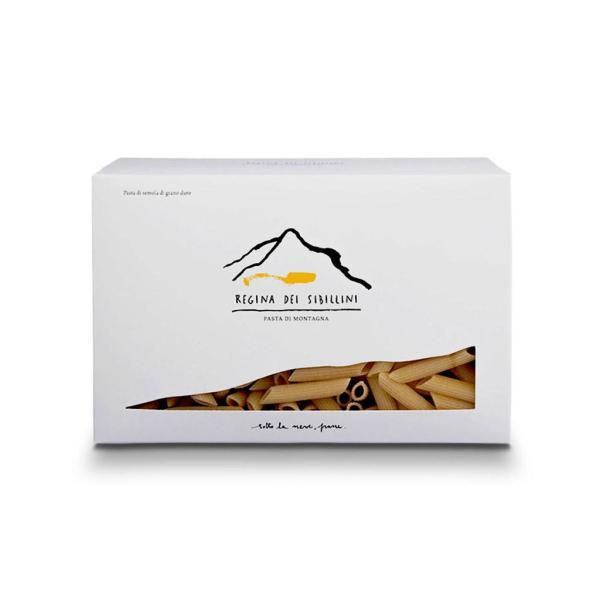 PENNE Regina dei Sibillini pasta di grano duro coltivato in montagna