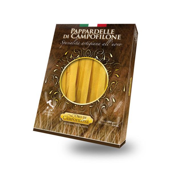 PAPPARDELLE Carassai Campofilone pasta uovo artigianale