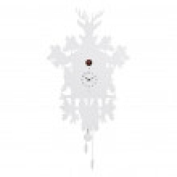 CUCU 373 bianco Diamantini Domeniconi Orologio con cucu e pendolo