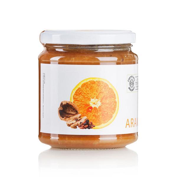 Composta Arance Noci Uvetta BIO San Michele Arcangelo zuccheri frutta