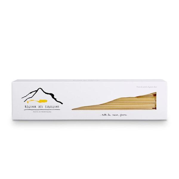 LINGUINE Regina dei Sibillini pasta di grano duro coltivato in montagna