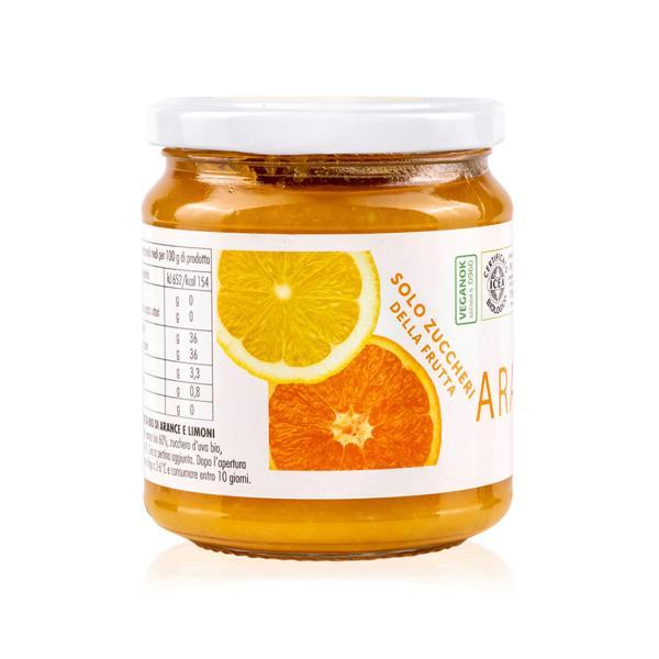 Composta Bio Arance limoni San Michele Arcangelo solo zuccheri frutta